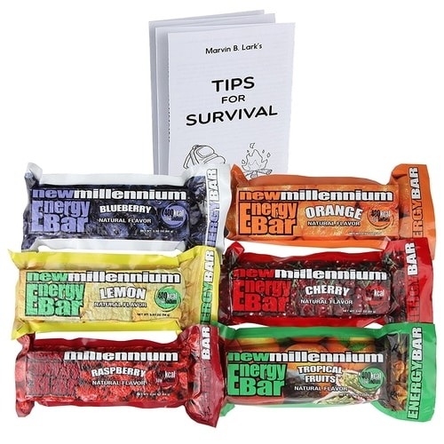 Car Bug Out Bag - Millenium Energy Bars