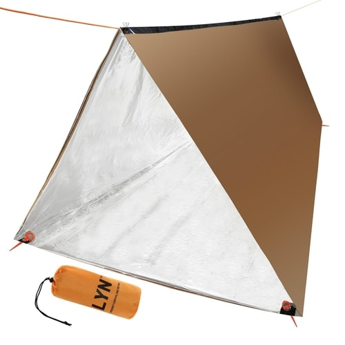 Compact Thermal Survival Tent - Car Bug Out Bag
