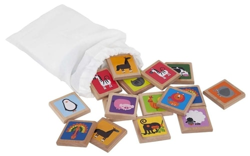 Kids Bug Out Bag - Animal Tile Memory Game