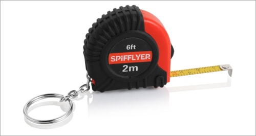 Unusual Everyday Carry Items - Mini Keychain Measuring Tape