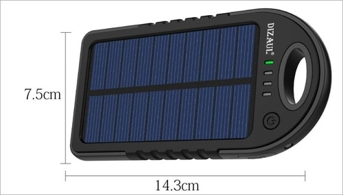 Unusual Everyday Carry Items - Solar Charger