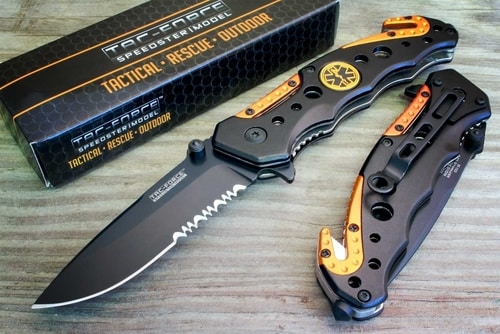 How To Use A Hunting Knife - TAC Force Rescue Survival Knife