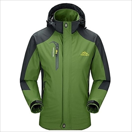 Best Essential Camping Gear List - Hooded Waterproof Jacket