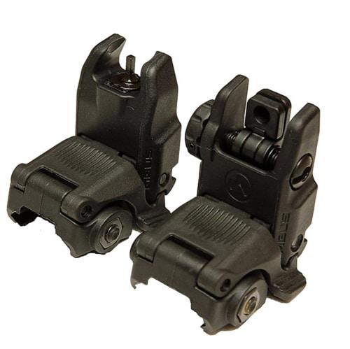 Best AR Build Parts - Magpul Backup Sights