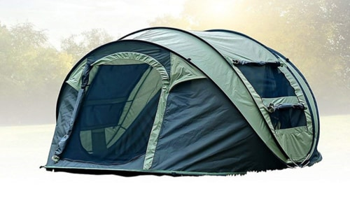 Best Dome Tent - FiveJoy Instant Popup Camping Tent