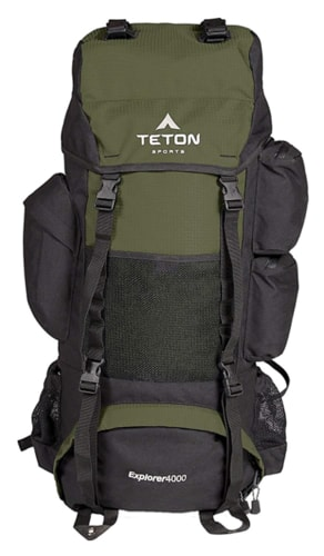 Best Prepper Tips - Teton Sports Explorer 4000 Internal Frame Backpack