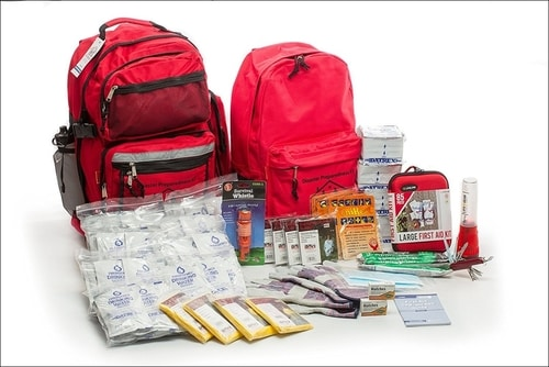 Best Emergency Survival Bag - Premium Family 4-Person Survival Kit For 72 Hours