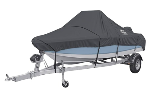 Survival Fishing Boats - StormPro Heavy Duty Center Console Boat Cover
