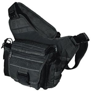Best EDC Backpack - UTG Multi-functional Tactical Messenger Bag Black