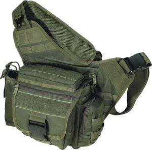 Best EDC Backpack - UTG Multi-functional Tactical Messenger Bag OD Green