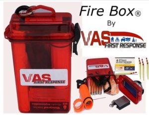 How To Make A Survival Fire - VAS Fire Box