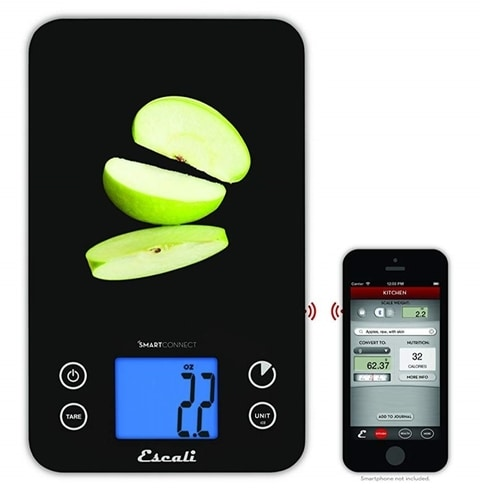 Best Christmas Gadgets - Bluetooth Kitchen Scale