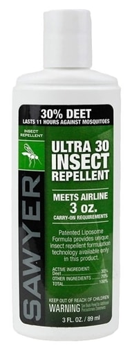 8 Simple Ways To Avoid Mosquito Bites - Ultra 30% DEET Insect Repellent