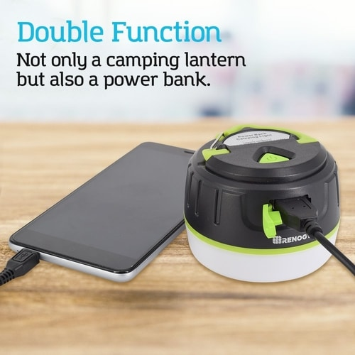 Best Gifts For Camping Enthusiasts - LED Camping Lantern & Power Bank